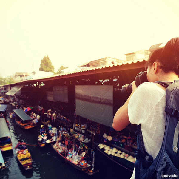 Bangkok Half Day Floating Market Tour (Damnern Saduak)