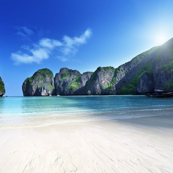 Phi Phi Island Tour: Phi Phi Island Sunrise Tour Full Day By Speedboat From Phuket