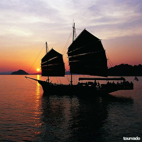 Phuket Sunset Dinner Cruise Aboard the June Bahtra