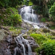 Koh Samui City Tour the big namuang waterfall in koh samui