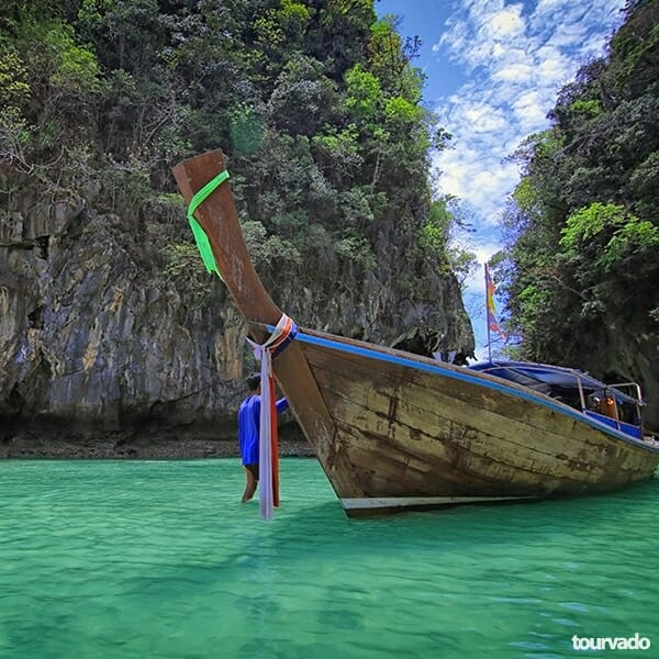 Krabi to Hong Island Tour by Speedboat