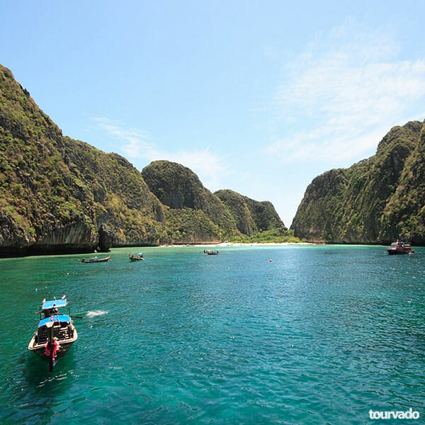 Krabi to Phi Phi Islands Tour by Speedboat