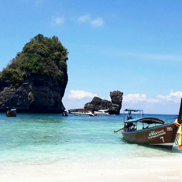 Phi Phi Island Tour: Krabi To Phi Phi Islands Tour By Speedboat