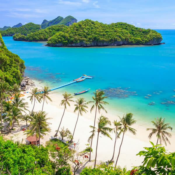 Ang Thong Marine Park Tour from Koh Phangan