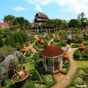 Full day Nong Nooch Village Tour with lunch from Pattaya