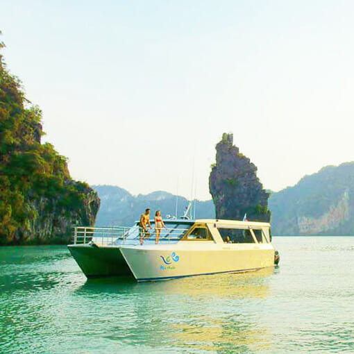 Koh Hong Island Krabi Luxury Tour from Phuket by Catamaran