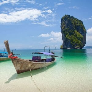 Phi Phi Islands Tour and Bamboo Island by Speedboat