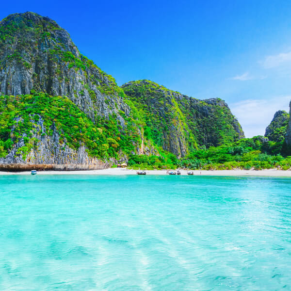 Phi Phi Islands Tour Bamboo Island by Speedboat