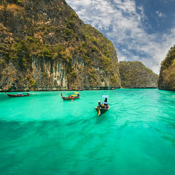 Phi Phi Islands Tour by Cruise Boat from Phuket