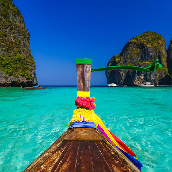 Phi Phi Island: Phi Phi Islands Tour By Cruise Boat From Phuket For Family