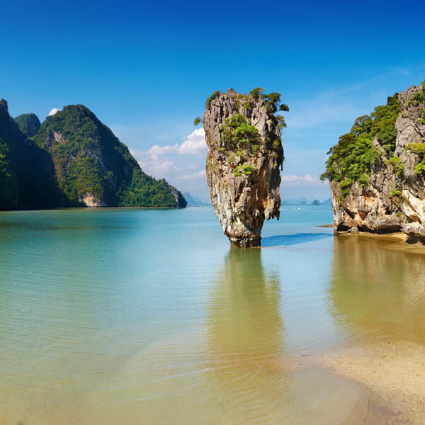 James Bond Island and Khai Island Tour by Speedboat