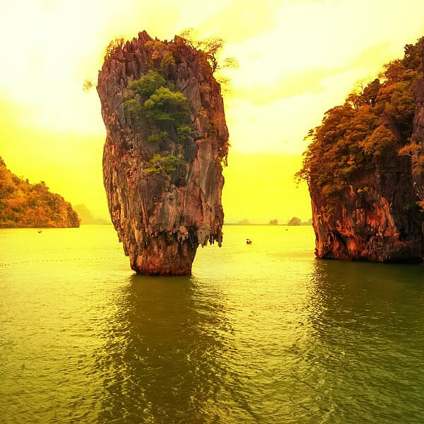 Phang Nga Bay Sunset Dinner Tour by Speedboat