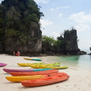 Krabi Canoe Tour at Ao Thalane Sunset
