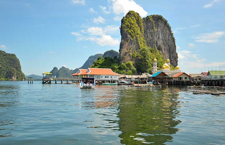 Phuket to James Bond island