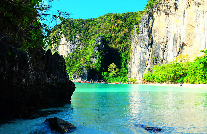 Hong island tours from Krabi