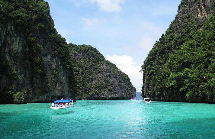 Krabi to Phi Phi islands
