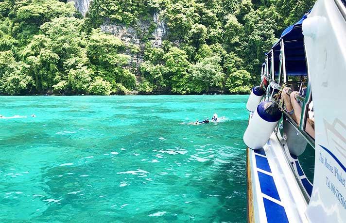 Premium Tours to Phi Phi Islands from Phuket