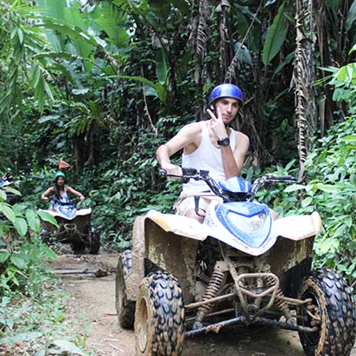Half day Phuket ATV tour and Zip Line Tourvado