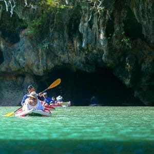 James Bond Island canoe Tour by Big boat from Phuket