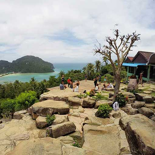 Visiting Phi Phi Island view point